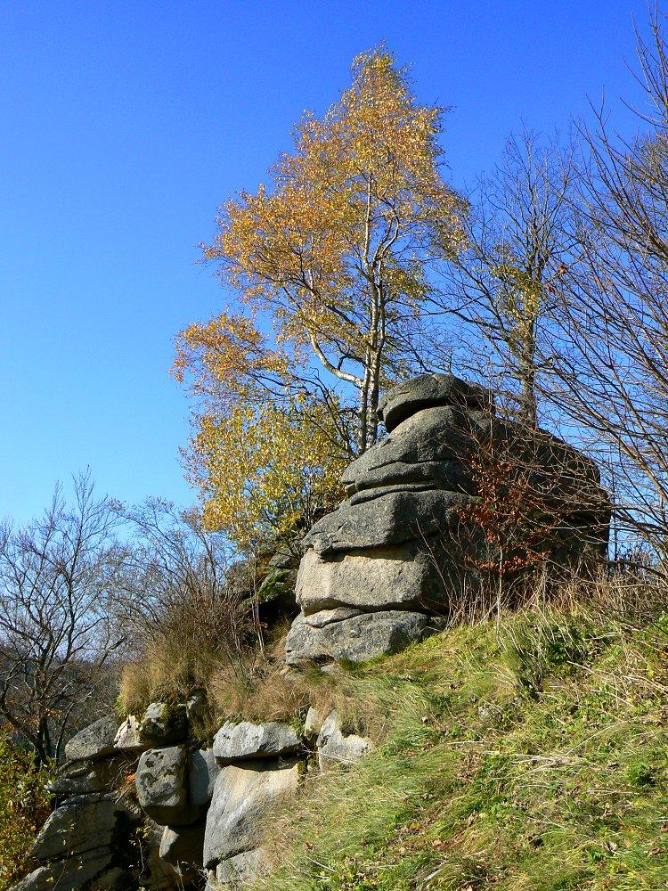 Nordwestportal Der Burgruine Epprechtstein